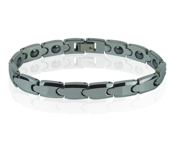 Stylish Polished Mens Bracelet